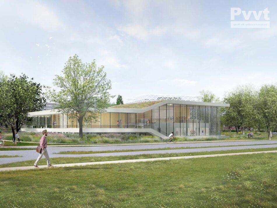 Plafondbekleding Wageningen Dialogue Centre